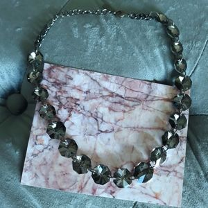 Charcoal Grey Necklace